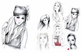 girl illustration - Pesquisa Google