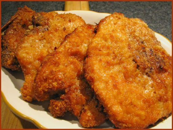 Fried butterfly pork chop recipe