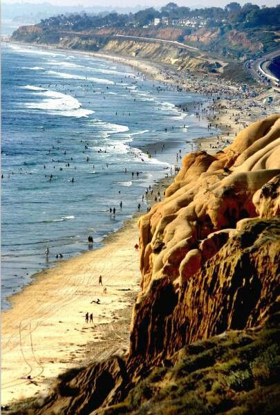 La Jolla beaches, in San Diego California.