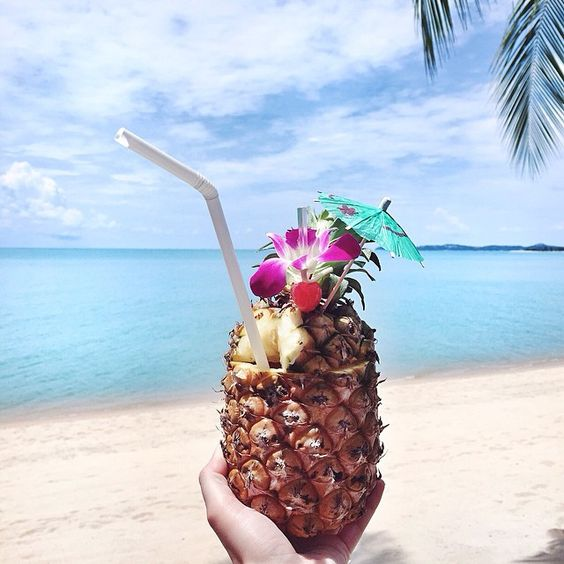 """My kinda cocktail Happy weekend lovers from #santiburibeachresort #kohsamui @leadinghotelsoftheworld"" Photo taken by @friendinfashion on Instagram, pinned via the InstaPin iOS App! http://www.instapinapp.com (06/12/2015)"