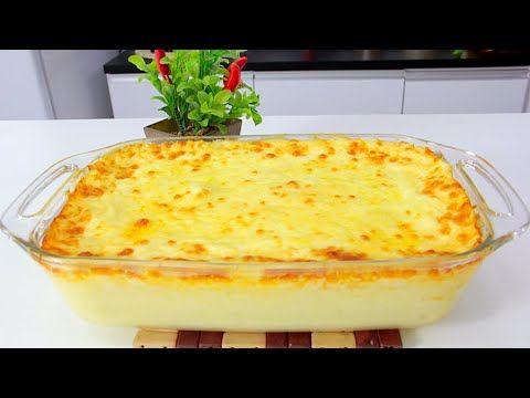 Sufle De Batata Com Molho Branco Rapido E Super Facil Receitas De