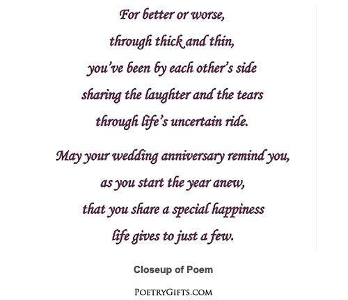 Anniversary Poem For Son And Daughter In Law Google Search Anniversary Poems Son Poems Happy Anniversary Quotes