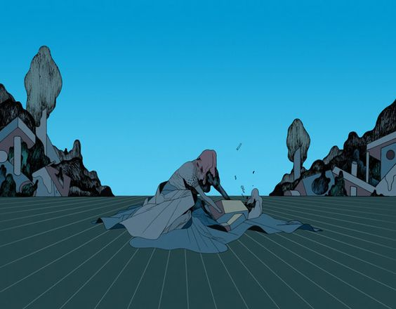 The glass war – illustration by Rune Fisker.