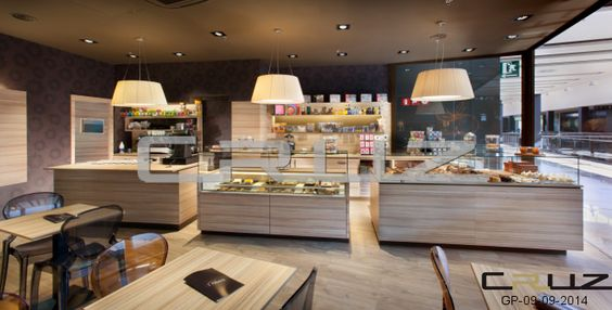 Dise o y decoraci n de panader as pasteler as for Diseno de cafeterias pequenas