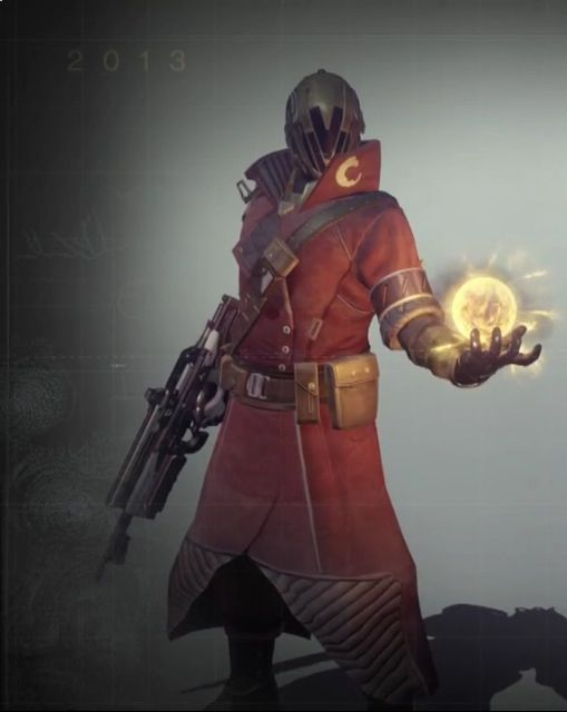 Destiny Warlock in the Destiny Commentary