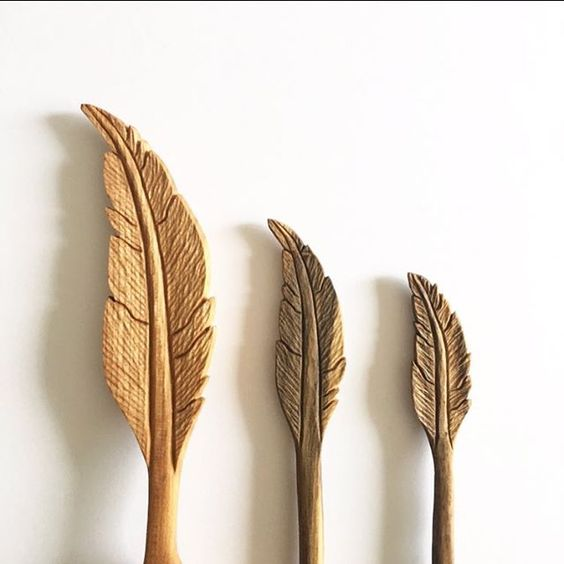 Woodcarving feathers and woodworking on pinterest