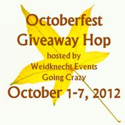 Bloggers Sign Up for the Octoberfest Giveaway Hop October 1 - 7
