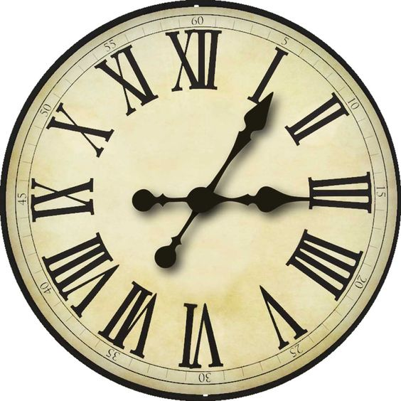 Striking image pertaining to printable clock faces for crafts