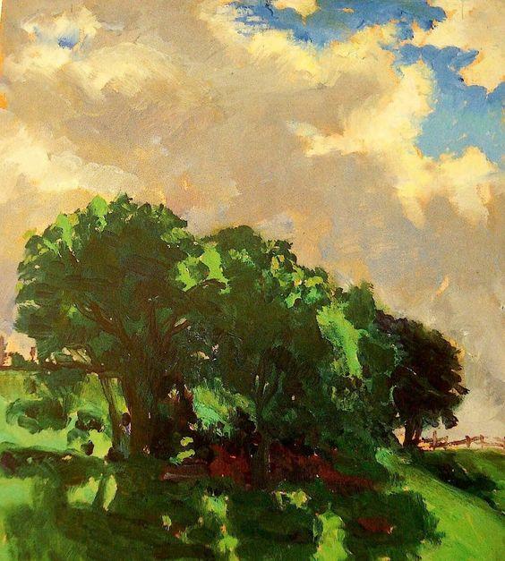 Santeri Salokivi1886 - 1940 Trees 1914