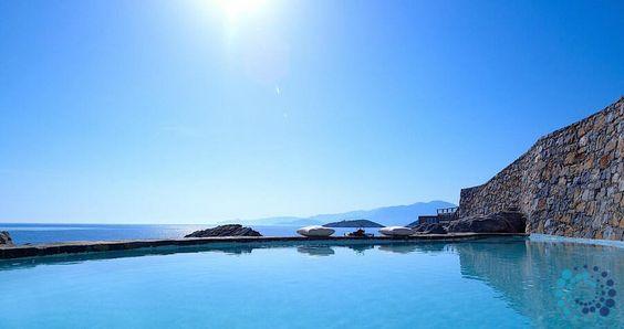 "Welcome to the ""Villa Olives"" in Crete, Greece. Your #luxury #villa #rent #greece #greek #island #vacances #grece #mygreekvilla #alouer"