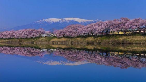 As paisagens do paraíso perdido japonês