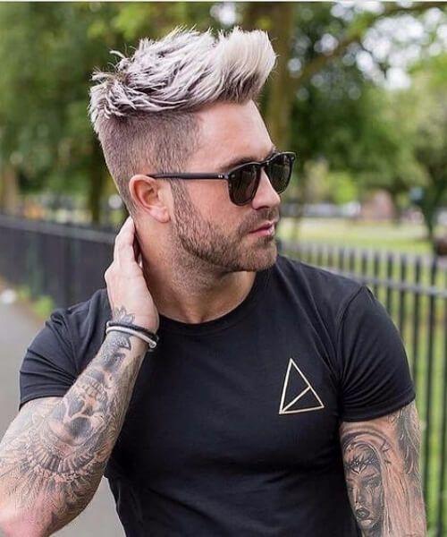Pin By Jessica Fellows On Austin Hair Men Hair Color Bleached Hair Men Mens Hairstyles Short