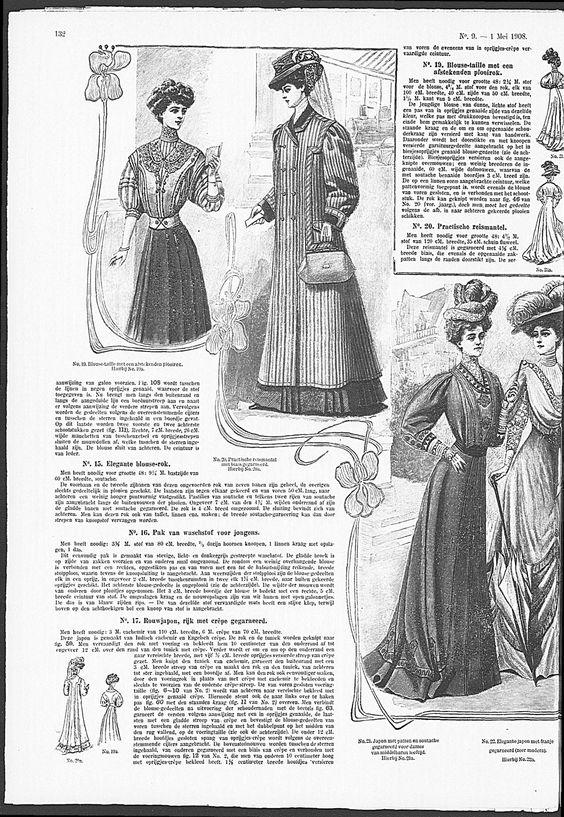 Lovely Art Nouveau iris frame.   (visit site for bigger picture)  Gracieuse. Geïllustreerde Aglaja, 1908, aflevering 9, pagina 132