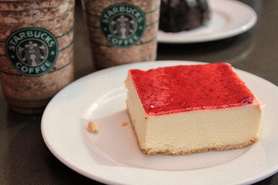 starbucks cheesecake