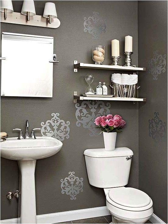 40 Most Popular Powder Room Design Ideas For 2019 Browse Powder Room Designs And Decorating Ideas Powder Room Small Diy Bathroom Decor Purple Bathroom Decor