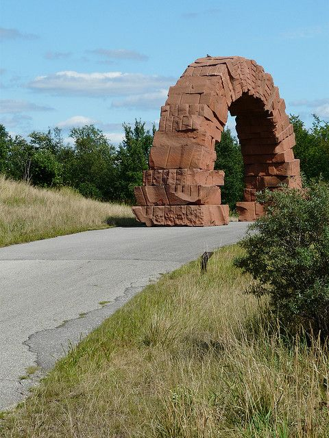 Andy goldsworthy, Arches and Grand rapids michigan on ...