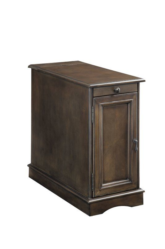 Kipling End Table With Storage In 2020 Wood End Tables End Tables With Storage Chair Side Table