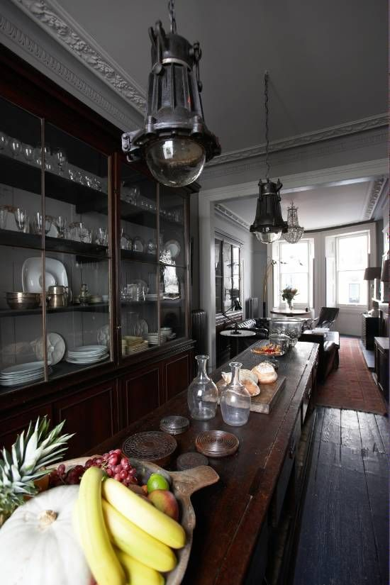 Alex MacArthur's show cabinets