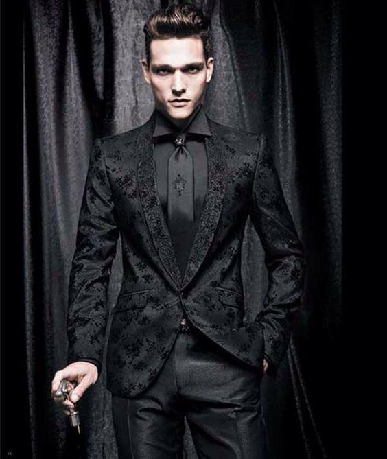 Or black suit... | 10 Year Wedding Vow Renewal- Halloween 2016 ...