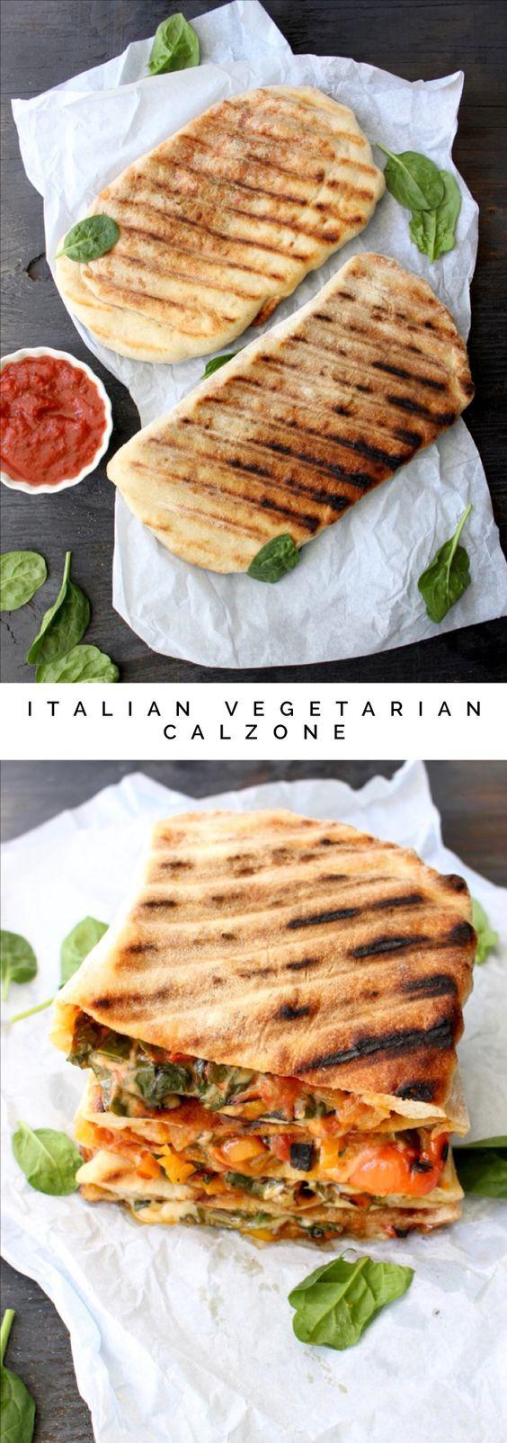 Italian Vegetarian Calzone Recipe   CiaoFlorentina.com