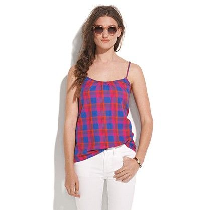 Wear sunscreen but I can see you in this. Pickford Cami / Madewell