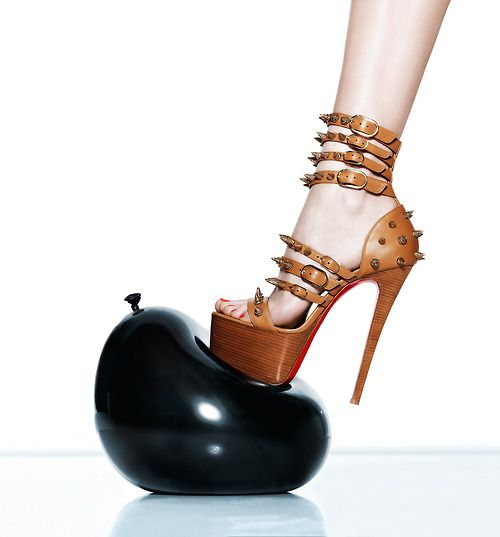 Art of Fashion Spring 2013 featuring Christian Louboutin. Photographed by Walter Chin.