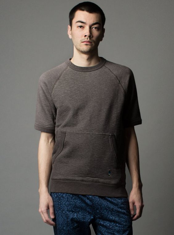 Couverture and The Garbstore - Mens - Garbstore - Short Sleeve Pouch Sweat