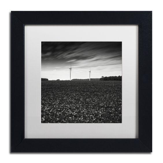 Dave MacVicar 'Wind' Framed Canvas Art
