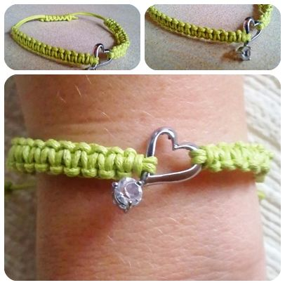 nu <3 handmade <3 bracelet DIY    neues selbstgemachtes Armband <3  Handgemacht