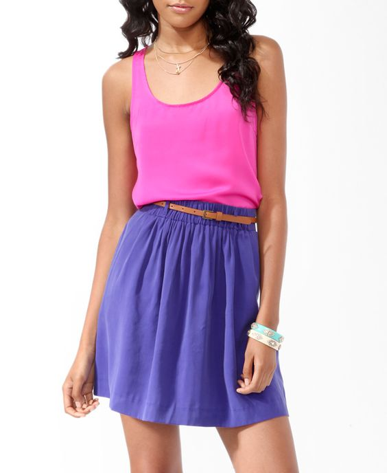 Essential Woven Racerback Tank from Forever21