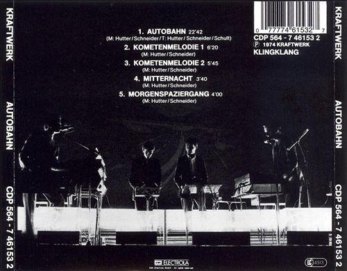 Autobahn - Kraftwerk | Songs, Reviews, Credits | AllMusic
