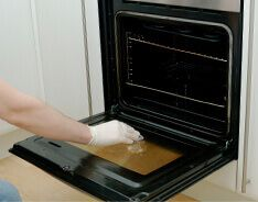 Oven Cleaning in