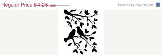 SUMMER SIZZLER SALE Birds on Branches Embossing Folder by Darice (2.97 USD) by MrOzNaps