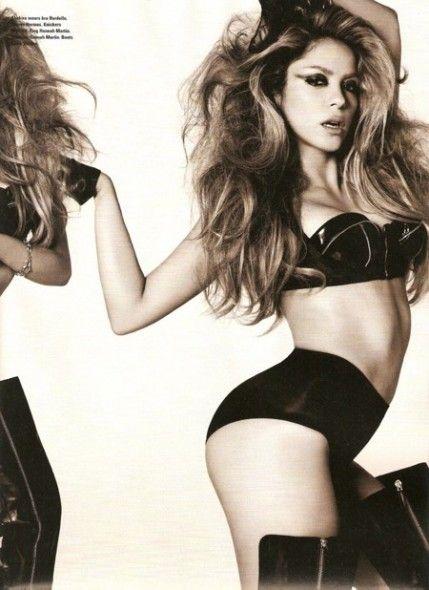 Shakira for i-D magazine.
