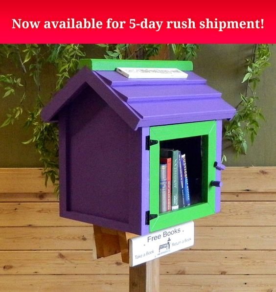 Designed with children in mind, this bright and friendly Library boasts sturdy Amish barn wood construction and cedar shingles ...