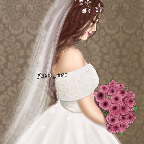 رسمتي للعرايس منشن لعروسه ديسمبر ر Beautiful Girl Drawing Lovely Girl Image Wedding Dress Sketches