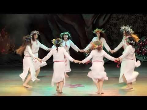 Школа танца АРИАДНА | Хоровод на Ивана Купала | Концерт 2013 - YouTube