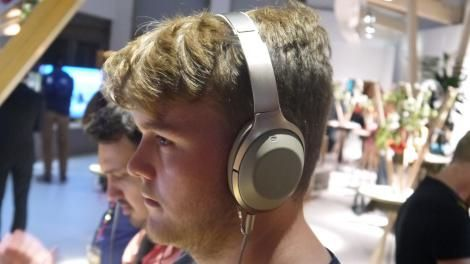 Hands-on review: IFA 2016: Sony MDR-1000X Wireless Headphones