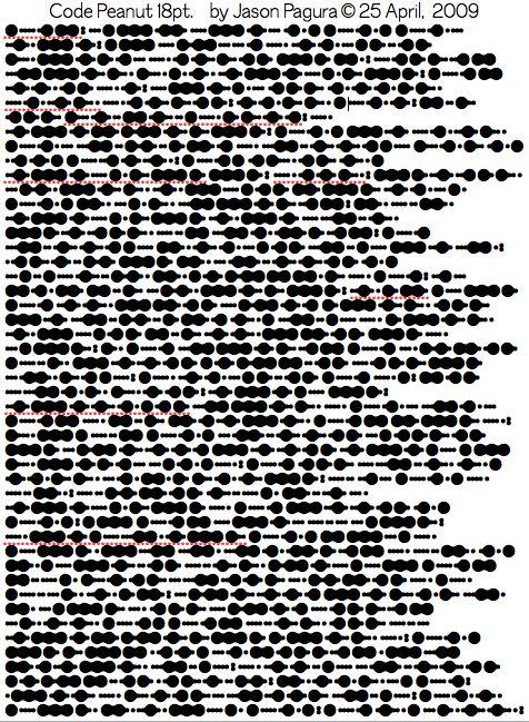 Morse code dot pattern idea | Languages | Pinterest | Fonts, Morse ...