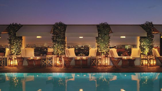 Skybar, West Hollywood, California