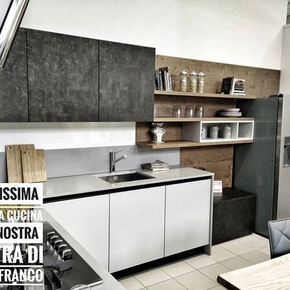Foto: Stosa Cucine - Chiodo Arredamenti | Cucina - Kitchen | Pinterest