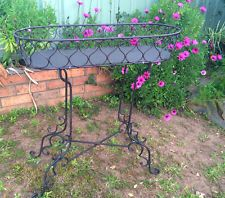 Summer Garden Decoration Pot Stand Planter Flower Holder Wrought Iron Large