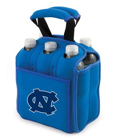 Take a look at this Blue North Carolina Six-Pack Beverage Buddy