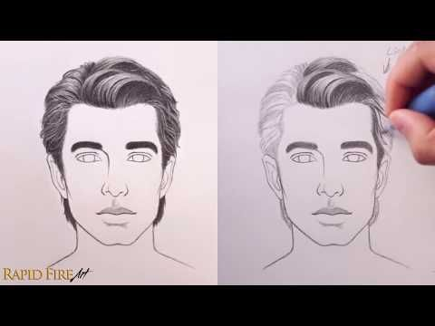 Use These 4 Simple Steps To Draw Any Hairstyle Realistically This Tutorial Covers 3 Different Styl How To Draw Hair Realistic Hair Drawing Realistic Drawings