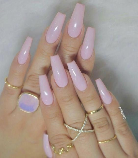 Have A Look At Our Coffin Acrylic Nail Ideas With Different Colors Trendy Coffin Nails Acrylic Nails Differen Coffin Nails Designs Dipped Nails Trendy Nails