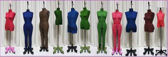 PGM Colored Hanging Dress Form Mannequin, Mannequins, Display Body ...