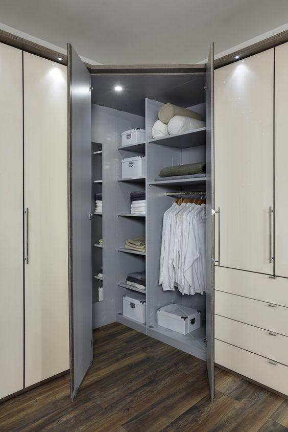 Loft corner wardrobe interior bedroom pinterest wardrobes furniture and mattress - Corner wardrobe design ...