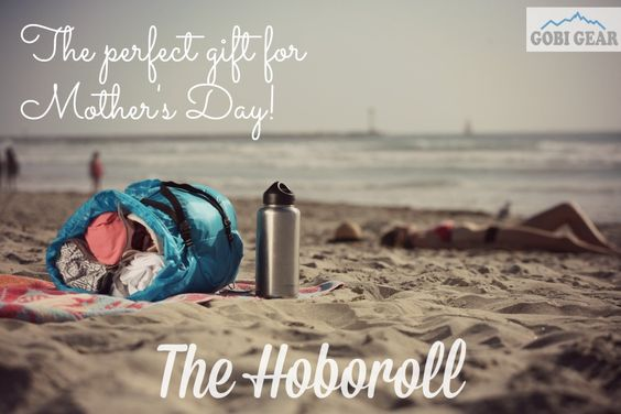 Mother's Day is this Sunday, May 10th! Get your mom the organizational travel stuff sack, the HOBOROLL. What mom doesn't love to be organized??