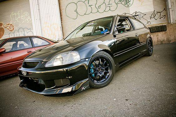 Ryan Der's Honda Civic Hatchback. by RKT Vision, via Flickr