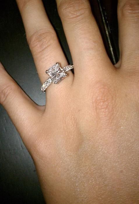 new pictures of real engagement rings wedding ks ring - Size 4 Wedding Rings